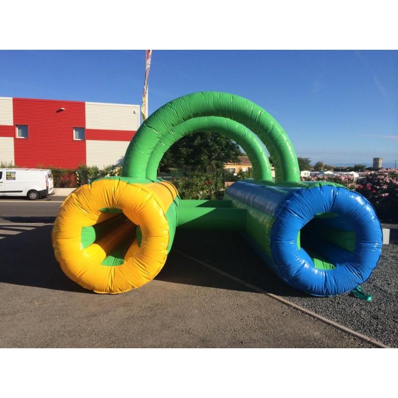 jeu gonflable tunnel ramper n l060 0280 animations gonflables. Black Bedroom Furniture Sets. Home Design Ideas