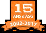 15 ans d'ASG