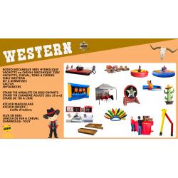 """Pack """"WESTERN"""""""
