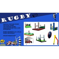 "Pack ""RUGBY """