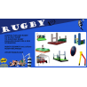 """Pack """"RUGBY """""""