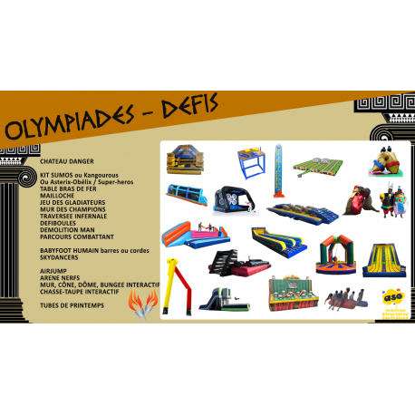 "Pack ""OLYMPIADES - DEFIS"""