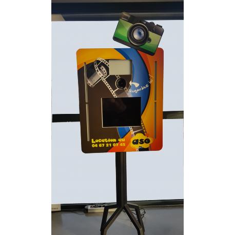 Robot-photo (Borne à Selfie à poser)