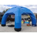 DOME GONFLABLE CARRE BLEU - n° L100-0220
