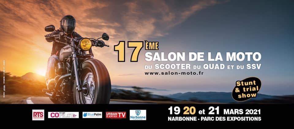 SALON de la MOTO 2021 Narbonne
