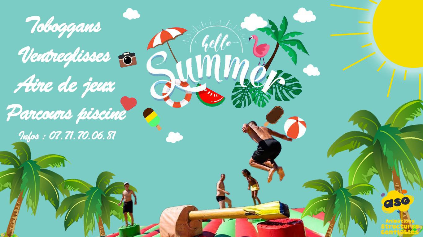 Jeux d'eau, jeux d'été