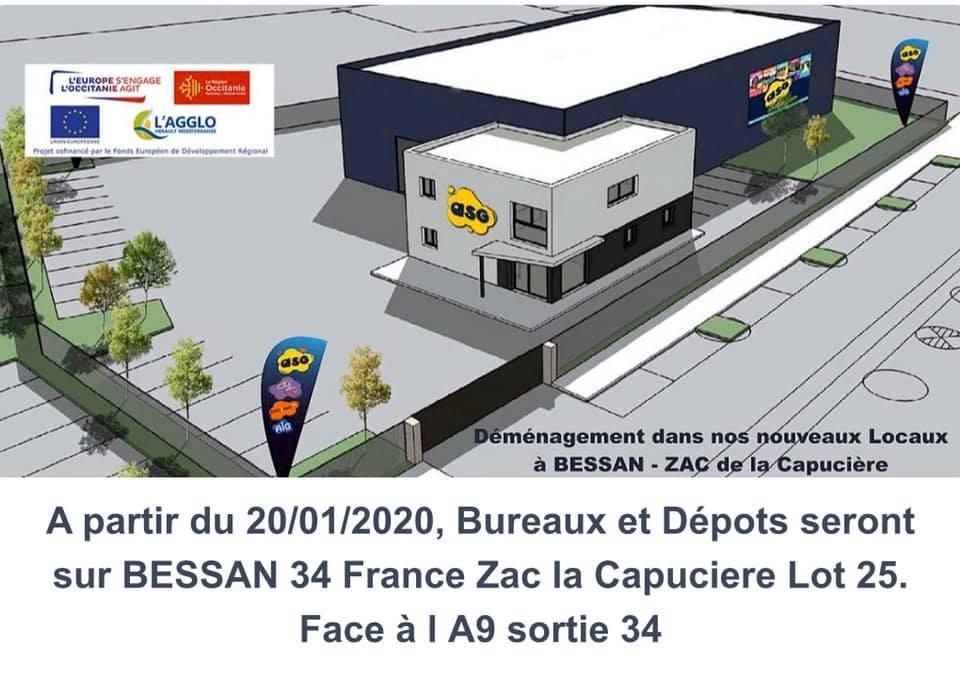 Nouveaux LOCAUX ASG34